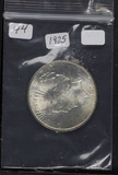 1925 - PEACE DOLLAR - BU