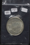 1925-S PEACE DOLLAR - AU