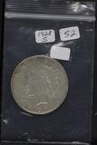 1928-S PEACE DOLLAR - XF