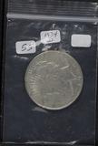 1934-D PEACE DOLLAR - AU