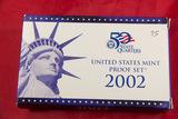2002 - US PROOF SET
