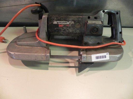 Black & Decker 2 speed portable band saw.
