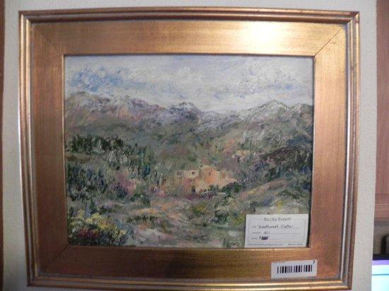 Southwest Vista Becky Everitt oil on canvas