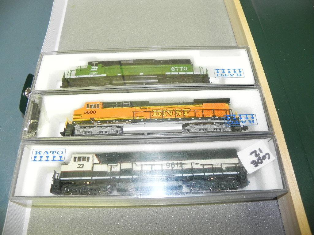Kato N scale 3 piece lot