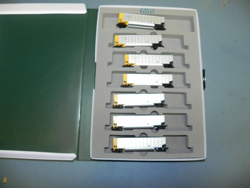 Kato N scale WE PX 7 piece traincar set