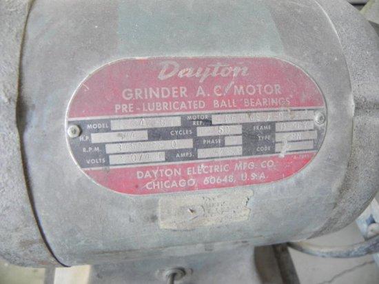 Outstanding Dayton Bench Grinder Industrial Machinery Equipment Machost Co Dining Chair Design Ideas Machostcouk