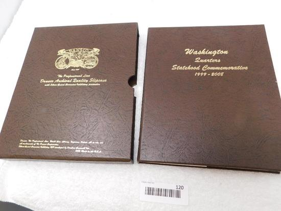 US Washington Statehood quarters coin book