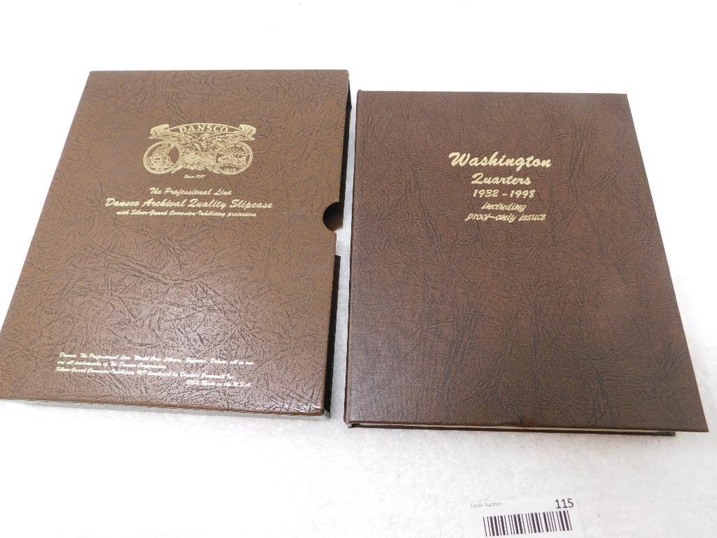 US Washington Quarters book