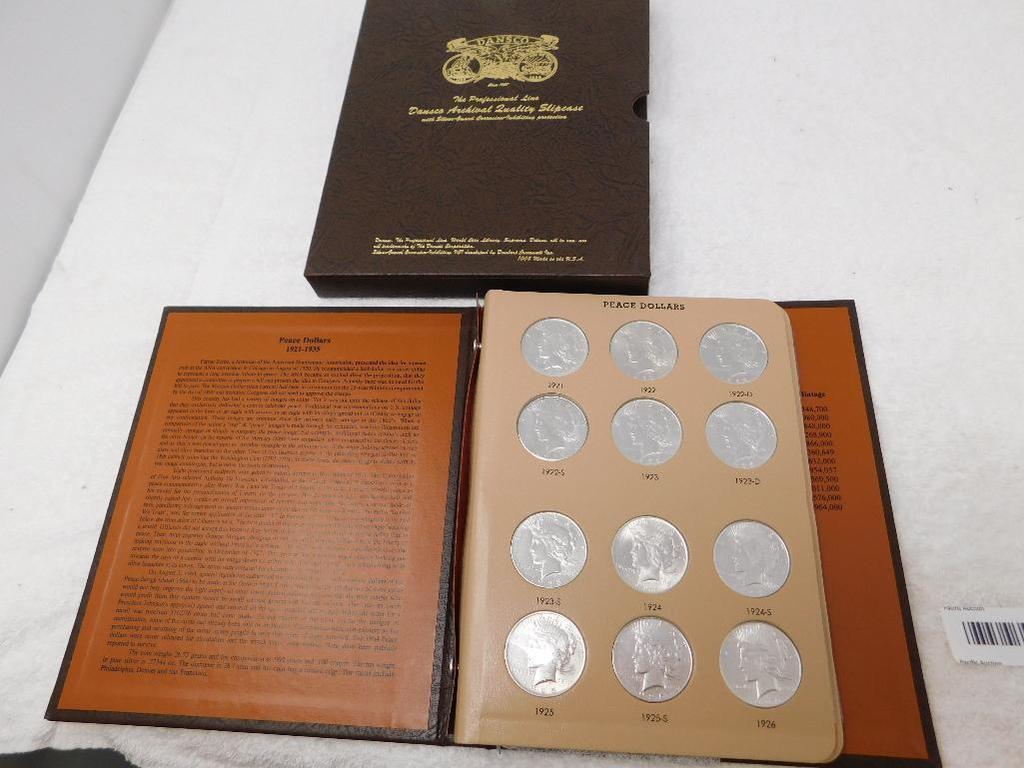 US Peace dollar coins