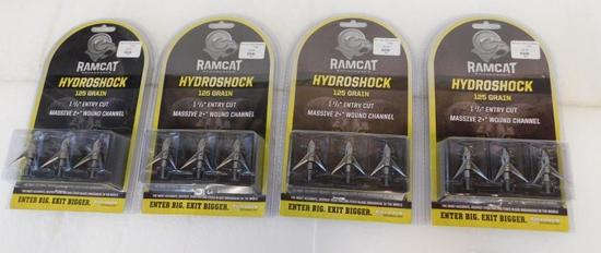 RamCat 125 grain Hydroshock broadheads