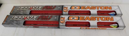 Easton Deep Six FMJ arrows
