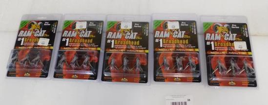 Easton Deep Six Ram Cat 125 gr broadheads