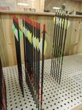 18 new gold tip hunter 500 arrows and 6 hunter 400 arrows.