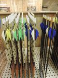 66 new Hunter 400 GPI 9.0 arrows, 6 hunter pro 300's and 6 hunter pro 340's.