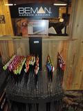 150+ new Beman Arrows with display.