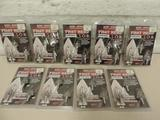 9 new 3 packs of Steel Force Phat Head S.O.B. feather duster 100gr broadheads.