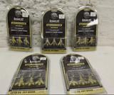 5 new boxes of 3 RamCat Hydroshock 100 grain Broadheads