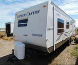 Copper Canyon Sprinter travel trailer