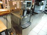 Taylor Crown model C706-27 Stainless steel commercial ice cream machine.