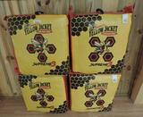 New Morrell's Yellow Jacket supreme 3 archery targets sold 4 x the bid price.