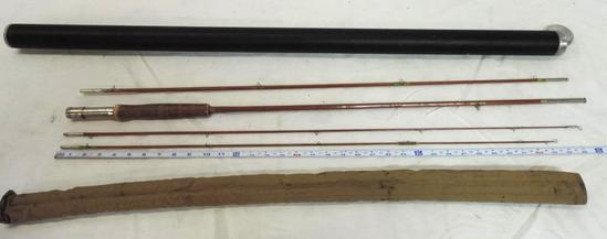Godwin Granger 9' 3 piece Granger special Flyrod with extra tip, soft and hard case.