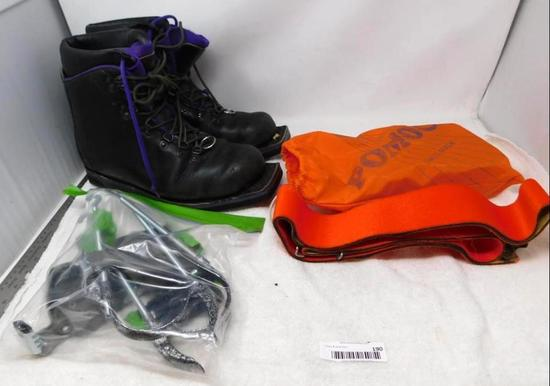 Telemark Si boots and bindings