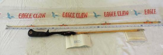 Wright Mcgill Eagle Claw ( Denco Super III ) 6' 2 piece casting rod.