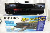 Phillips CDR 785 CD recorder with remote and original box (tested operable).