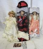 Collector doll lot.
