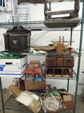 Antique collectibles lot.