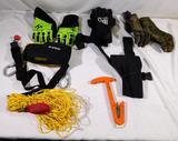 Swiftwater rescue and Navy SEAL rescue gear