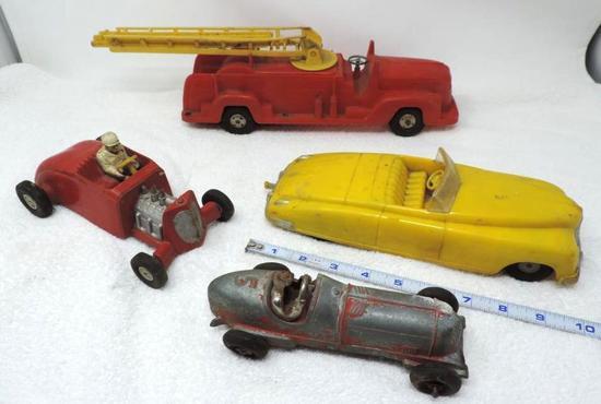 Antique toy assortment.