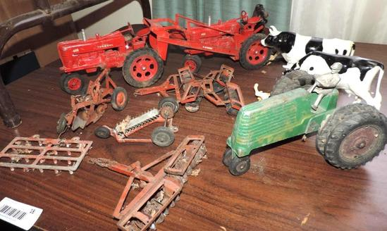 McCormick Farmall tractors and more .