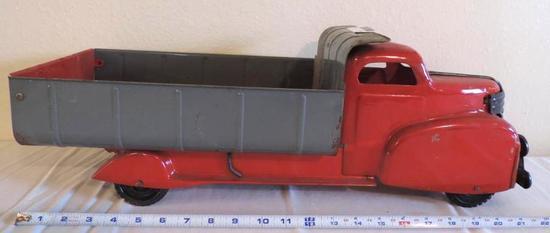 Lumar antique toy dump truck.