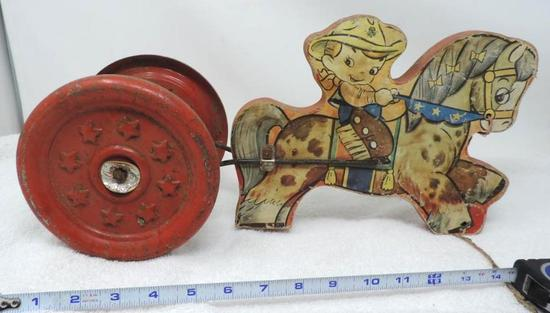 The Gong bell Mfg. Co antique USA made toy.