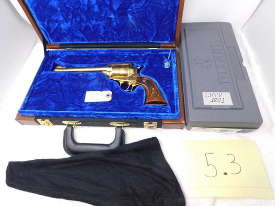 Custom Ruger New Model Super Blackhawk revolver
