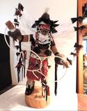 L. Vandwer Hoop Dancer large kachina doll in excellent condition.