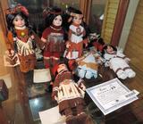Six Royalton Collection dolls.