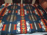 Pendleton blanket.
