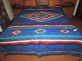 6'x9' heavy blanket.