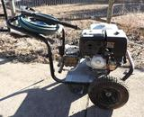 Excel commercial 3600PSI with 13HP Honda motor, hose and spray nozzle.