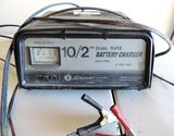 Schumacher model SE-1010-2 12 volt battery charger.