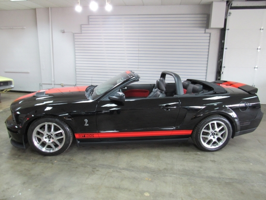 2008  FORD MUSTANG GT500 CONVERTIBLE