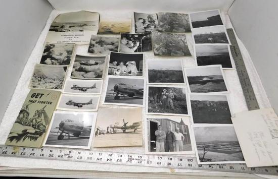 WWII photos with Enola Gay Wheeler AFB and Tora Tora Tora pictures
