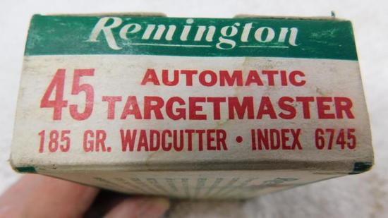 45 ACP Targetmaster ammunition