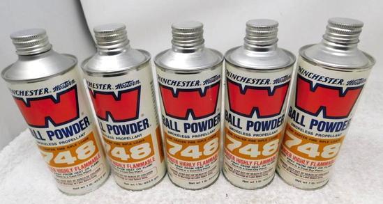 Winchester 748 gunpowder for reloading NO SHIPPING