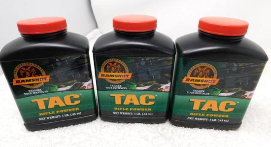 Ramshot TAC gunpowder for reloading NO SHIPPING
