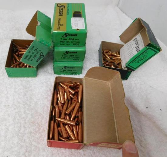 7mm bullets for reloading