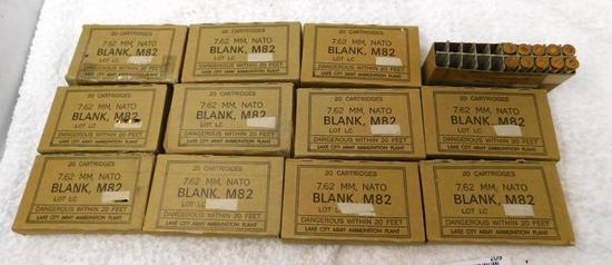 7.62X51 M82 blank ammunition