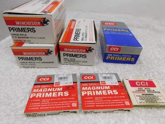 Primers for reloading NO SHIPPING